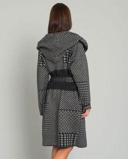 Płaszcz żakardowy