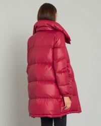 Pikowany płaszcz puchowy
