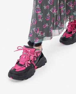 Dwukolorowe sneakersy Inka