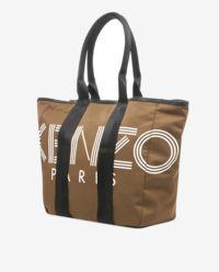 Brązowa torba z logo