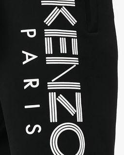 Czarne spodenki z logo