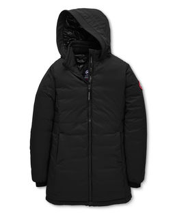 Czarna kurtka Camp Hooded