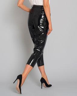 Spodnie lakierowane