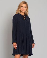 Jedwabna sukienka VLogo
