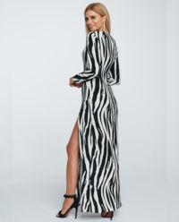 Sukienka w zebrę Larsa