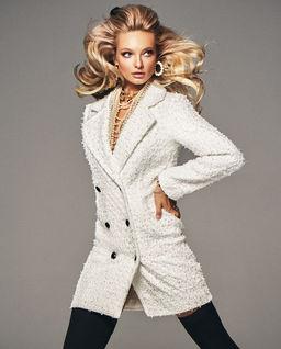 Wełniany płaszcz Coco