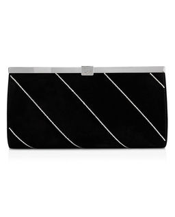 Czarna kopertówka Palmette