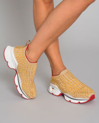 Sneakersy Spike Sock Donna