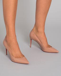 Skórzane szpilki Kate 8.5 cm