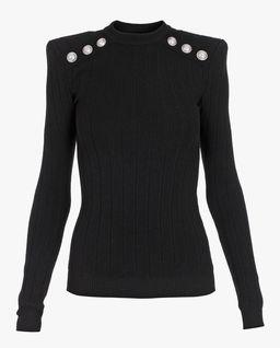 Sweter z guzikami