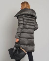 Szary płaszcz