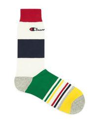 Kolorowe skarpety z logo