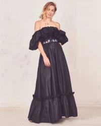 Černé maxi šaty