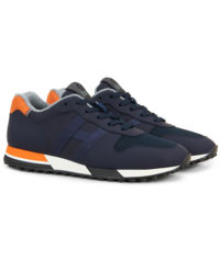 Granatowe sneakersy H383