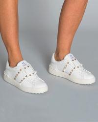 Białe sneakersy Untitled