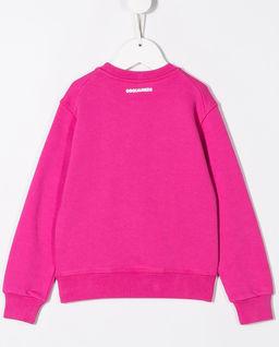 Różowa bluza z logo 4-16 lat