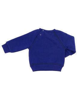 Niebieska bluza z logo 0-2 lata