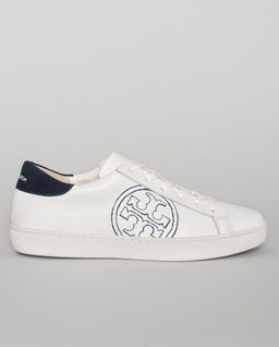 Bílé sneakersy s logem