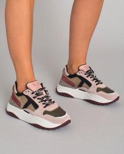 Sneakersy na vysoké podrážce