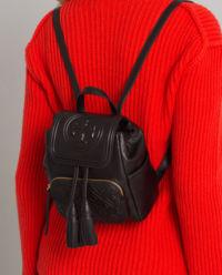 Černý batoh Fleming