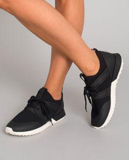 Czarne sneakersy Meline