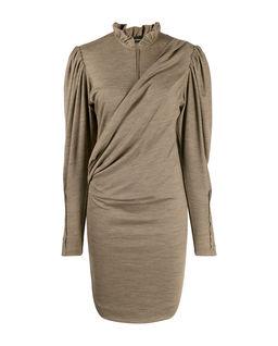 Beżowa sukienka Divya