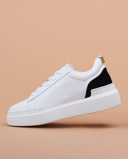 Białe sneakersy Ninna