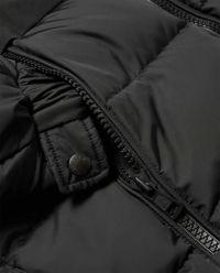 Czarna kurtka puchowa Laveda