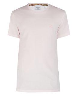 Jasnoróżowa koszulka z bawełny