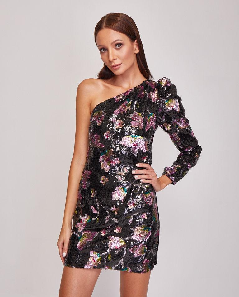 Sukienka mini z cekinami