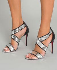 Sandały na szpilce Xili Disco Ball