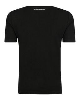 Czarna koszulka 8-16 lat