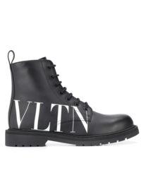 Czarne  oficerki VLTN