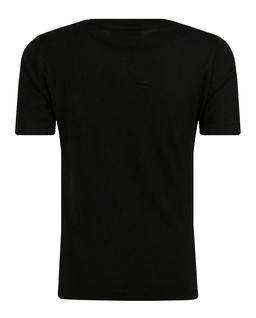 Czarna koszulka z nadrukiem 8-16 lat