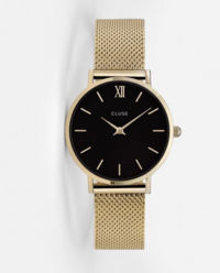 Zegarek Minuit Mesh Gold/Black
