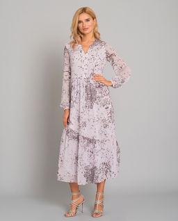 Sukienka maxi we wzory