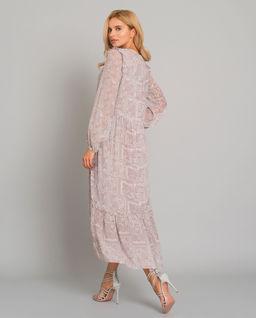 Długa romantyczna sukienka