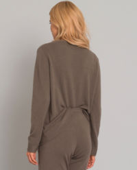 Sweter z kaszmiru z wzorem gwiazdy
