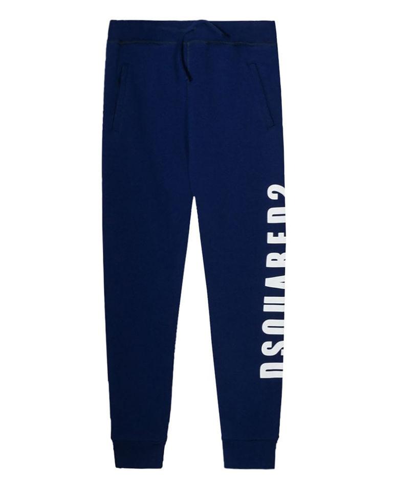 Niebieskie spodnie dresowe 4-16 lat