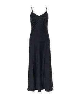 Černé, hedvábné šaty Noli