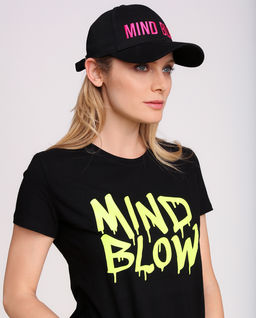 Černá kšiltovka Mind Below