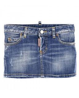 Minispódniczka z jeansu 8-16 lat