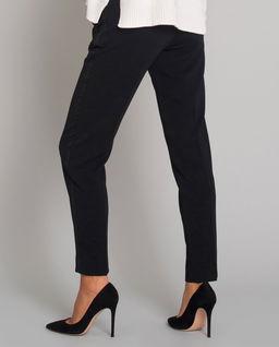 Eleganckie spodnie z połyskującymi lampasami