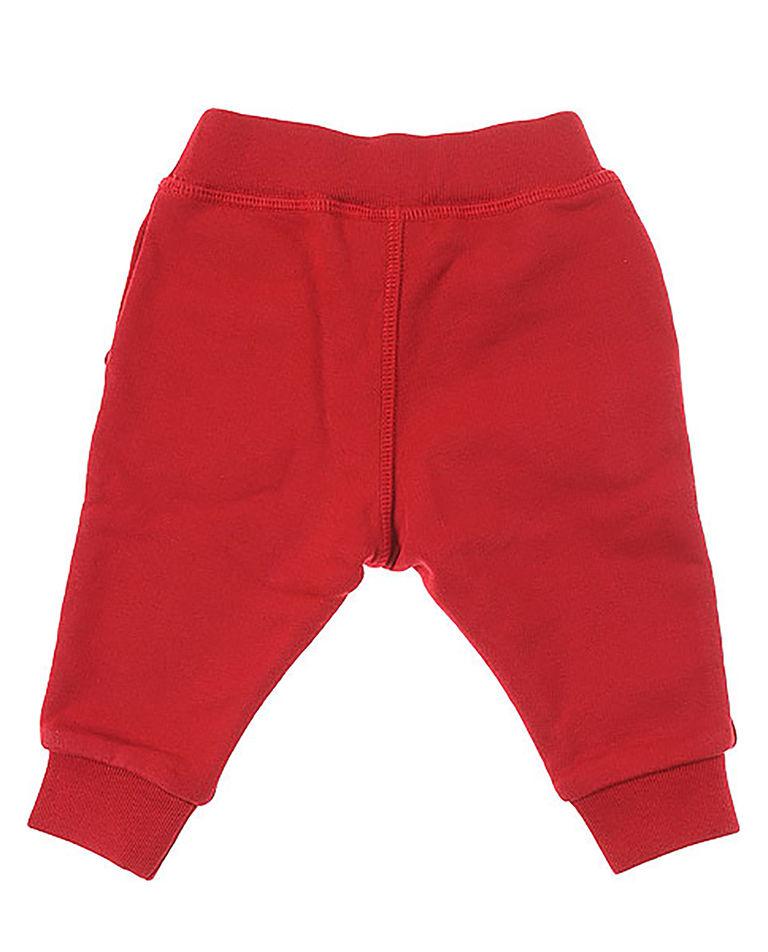 Czerwone spodnie dresowe 0-3 lata