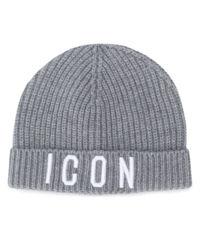 Szara czapka ICON 4-14 lat