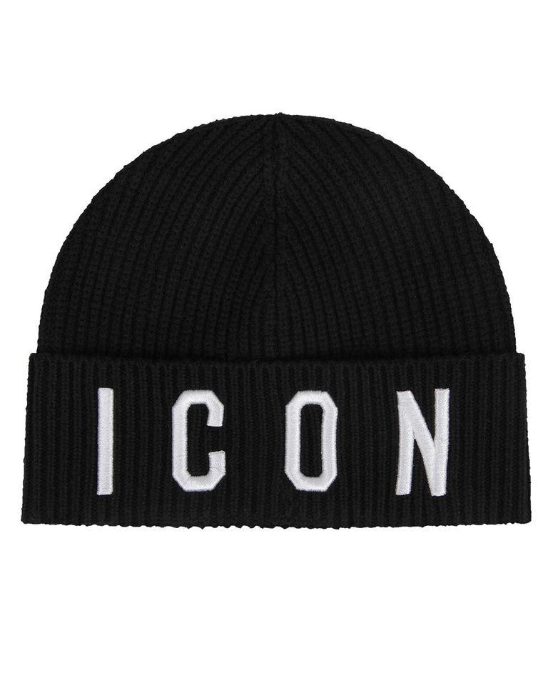 Czarna czapka ICON 8-14 lat