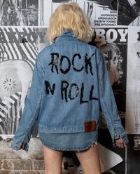 Džínová bunda Rock n Roll