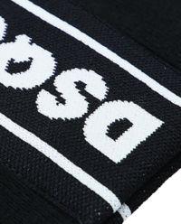 Czarna czapka z logo 12-14 lat