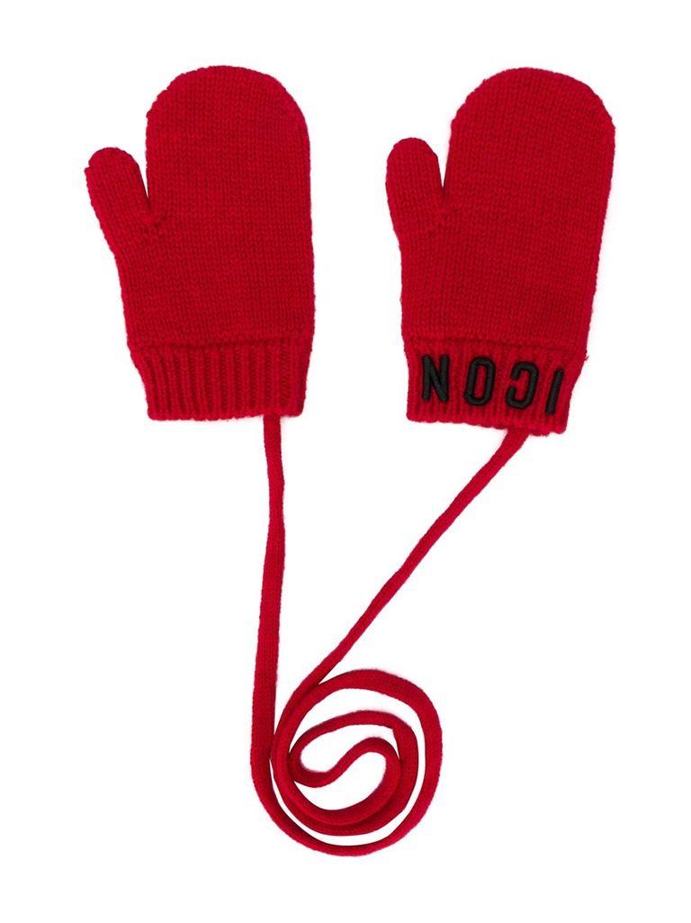 Czerwone rękawiczki ICON 4-14 lat