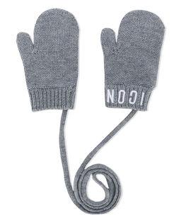 Szare rękawiczki ICON 4-14 lat